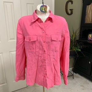 Chico's Coral Tunic Chico's Size 2/Large